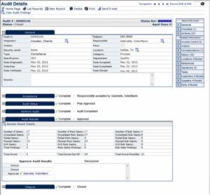 Audit Management Software from Harrington Group