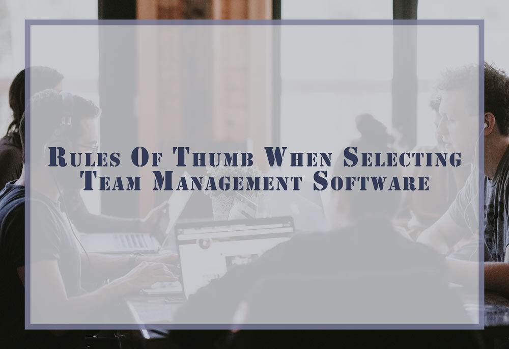 Team Management Software